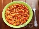 Рецепта Задушени тиквички със соя